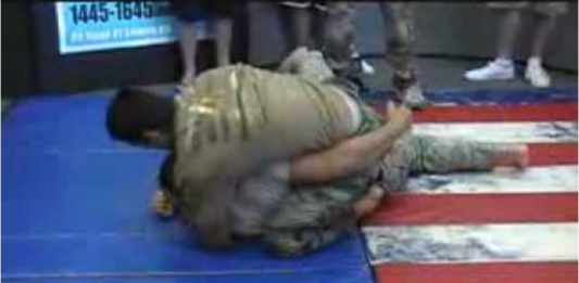 Rener Gracie defeating army soldiers bjjspot