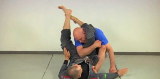 escape triangle choke bjjspot