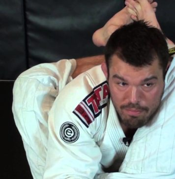Triangle defense by Dean Lister bjjspot