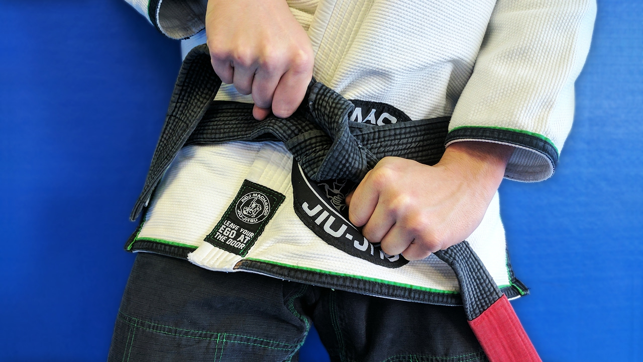how to properly tie your bjj belt bjjspot