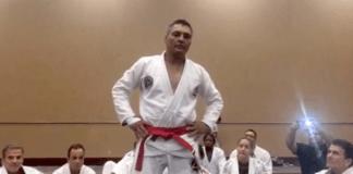 Rickson Gracie red belt