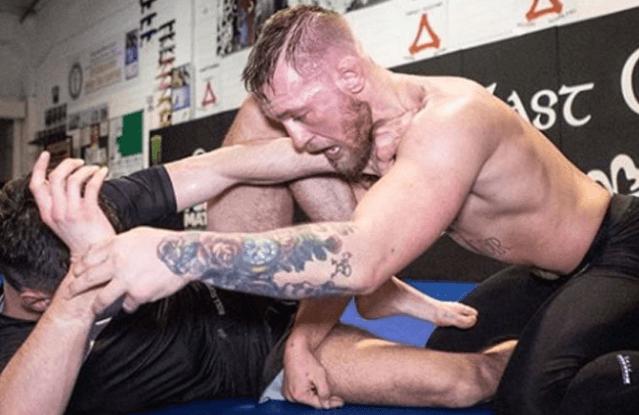 Conor McGregor jiu Jitsu
