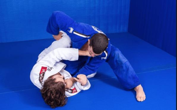 half guard absic jiu jitsu positions