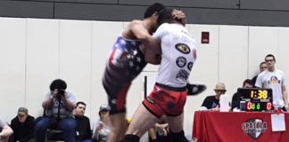 BJJ black belt wins wrestling tournament