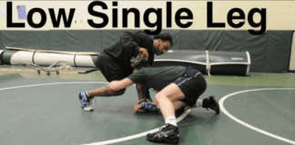 How to Set Up, Shoot, and Finish a Low Single Leg Takedown