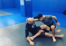 John Danaher Demonstrates The scissor takedown