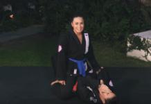 Demi Lovato Jiu Jitsu Demonstration