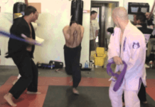 BJJ Gauntlet or the belt whipping