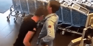 Judoka attacked in the super Market by a Hooligan. Check out his reaction !
