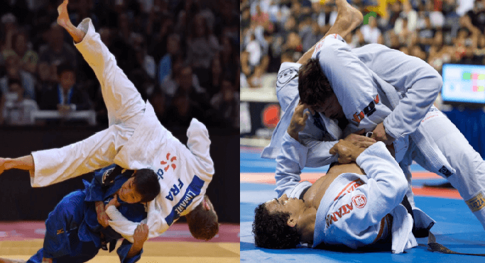 BJJ vs Judo - Differences and Similarites - BJJ Spot