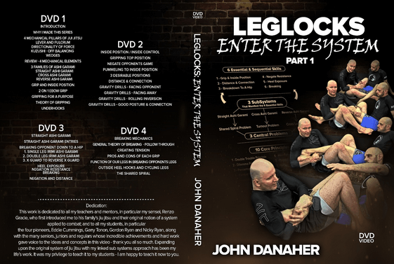 Leg Locks: Enter The System – John Danaher DVD Instructional - BJJ Spot