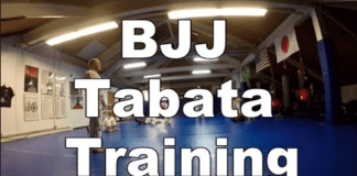 Tabata for BJJ - Workout Example