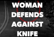 Woman Defends Knife Attack Using JIU-JITSU