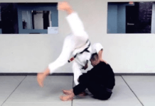 How to do Cartwheel Guard Pass