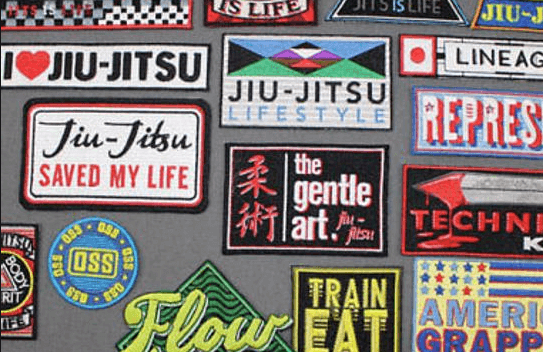 Best BJJ Patches - Top Gi patch designs