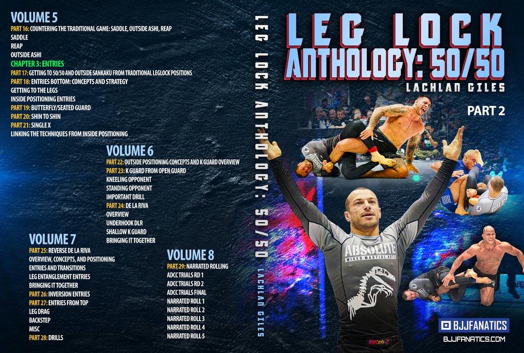 Lachlan LegLock dvd