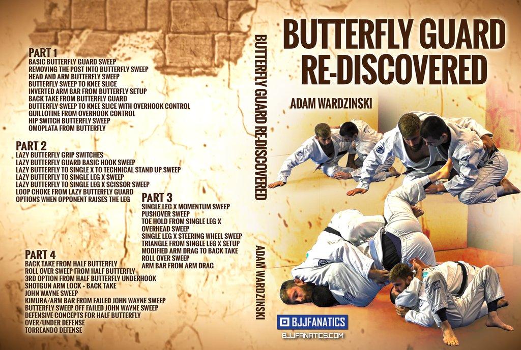 Butterfly Guard Re-Discovered by Adam Wardzinski