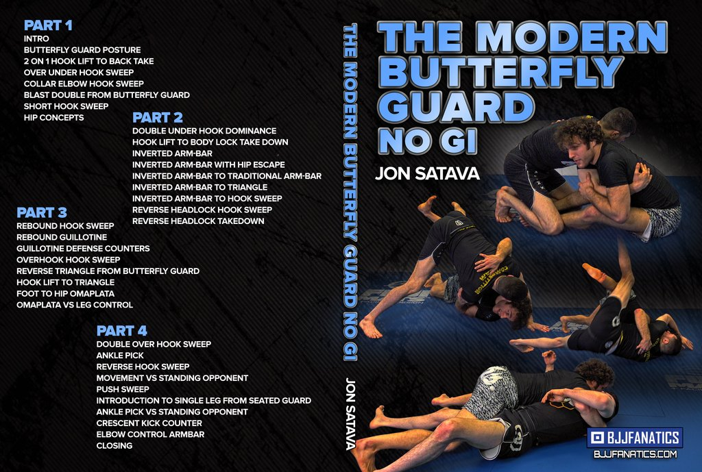 The Modern Butterfly Guard No Gi by Jon Satava