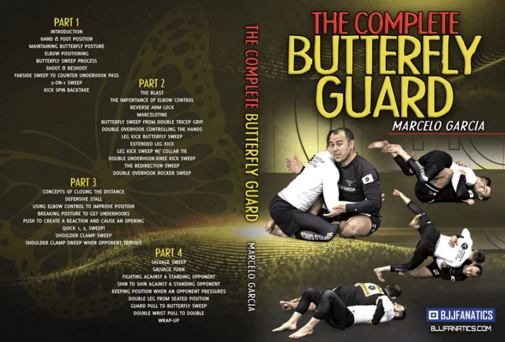 The Complete Butterfly Guard by Marcelo Garcia